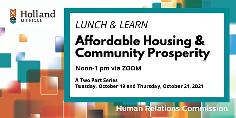 Affordable Housing & Community Prosperity tickets