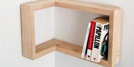 Junior - make a corner shelf for age 11-16 tickets