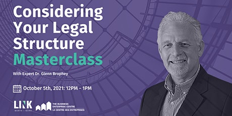 Considering Your Legal Structure Masterclass entradas