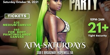 Strip and Paint Party tickets