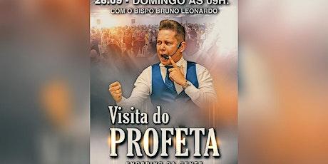 """VISITA DO PROFETA EM SALVADOR (26.SET)"""" ingressos"""