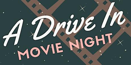 CJA Drive in Movie Night tickets