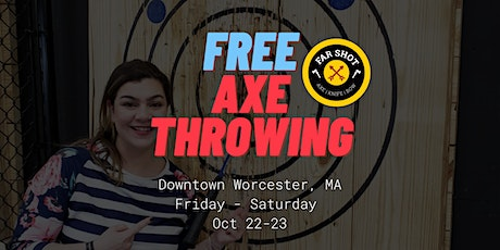 Free Axe Throwing Open House Far Shot Worcester MA tickets
