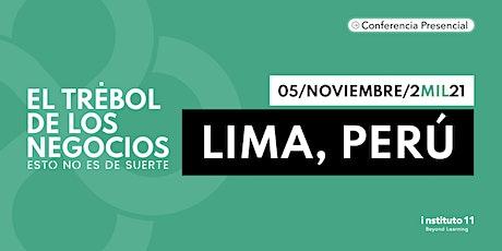 Workshop Trébol de los Negocios LIMA; PERÚ tickets