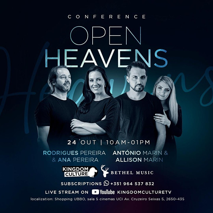 OPEN HEAVEN Conference image