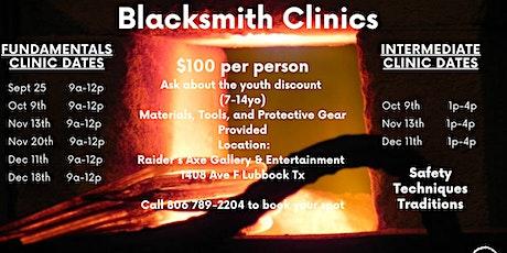 Blacksmith Fundemantals tickets