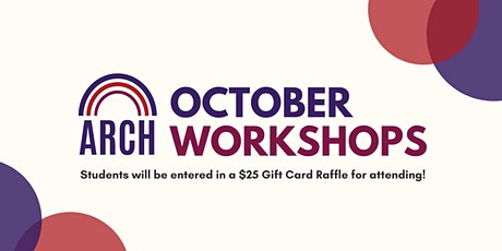 October ARCH Workshops tickets