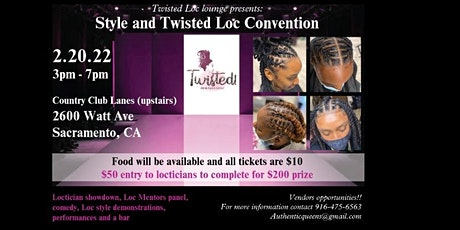 Style and Twisted Loc Convention tickets