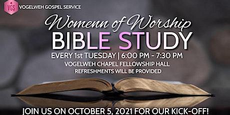 Women of Worship Bible Study Tickets