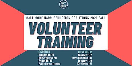 BHRC 2021 Fall Volunteer Training tickets