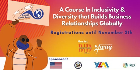 Why Do They/We? Building Common Ground. A Course In Inclusivity & Diversity tickets