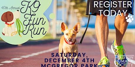 40th Annual K9 Fun Run tickets