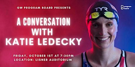 GW Program Board presents A Conversation with Katie Ledecky tickets