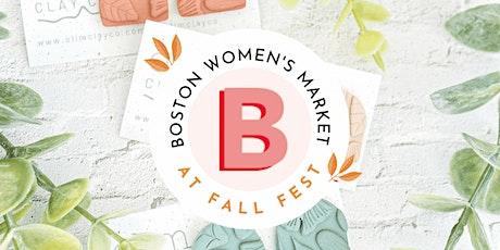 Boston Women's Market at Fall Fest tickets