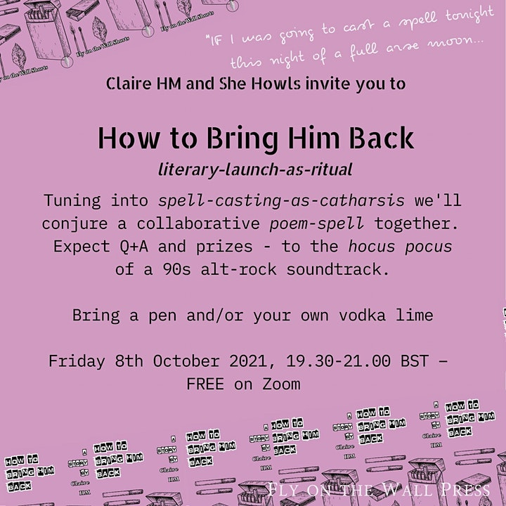 How to Bring Him Back by Claire HM: celebration launch event. image