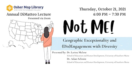Annual DiMatteo Lecture with Dr. Larissa Malone and Dr. Adam Schmitt tickets