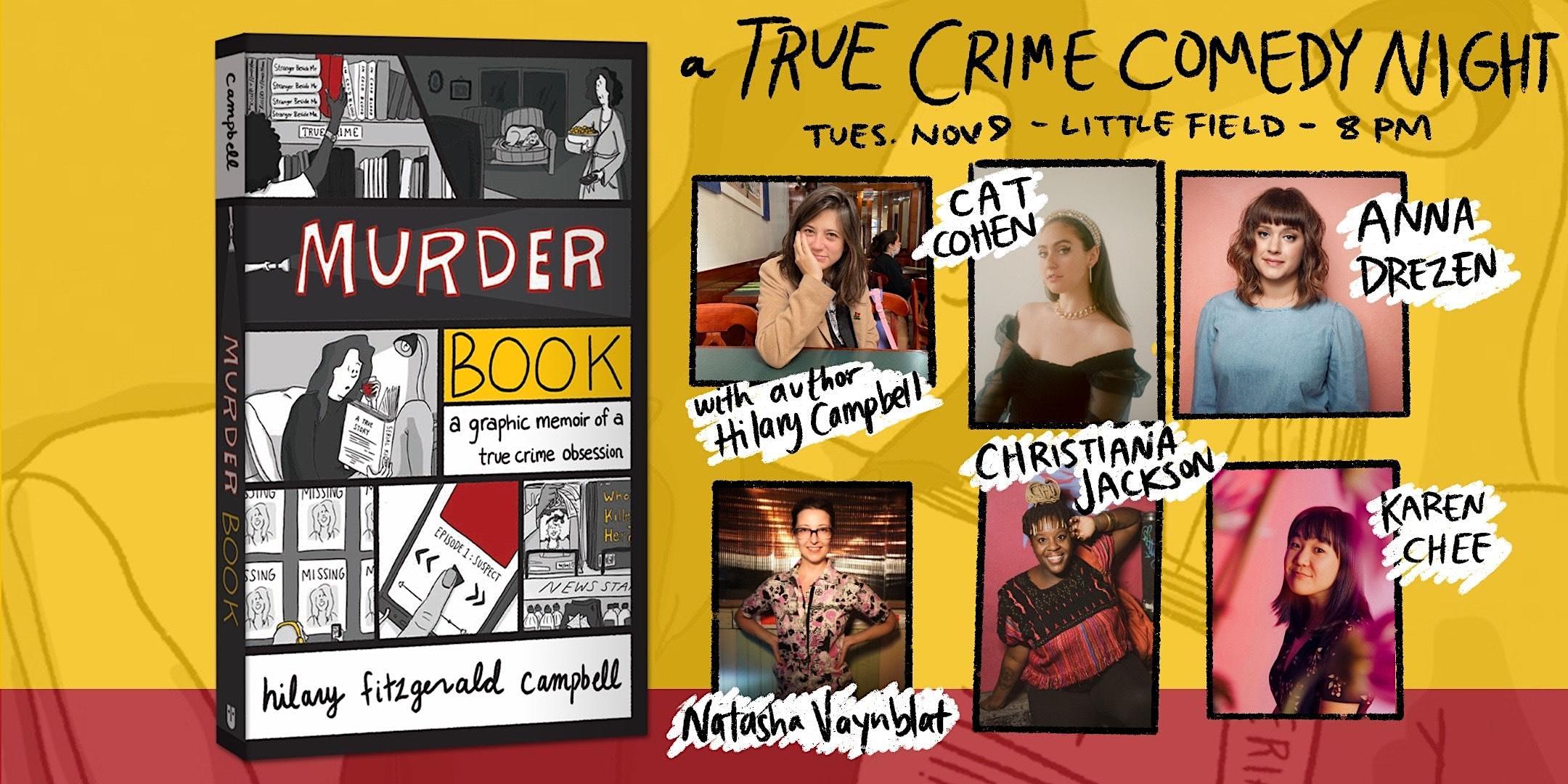 Murder Book: A True Crime Comedy Night