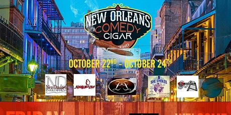 3rd Annual Comedy & Cigar Weekend New Orleans Style tickets