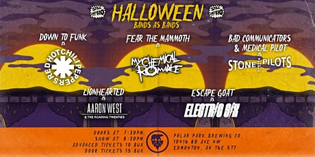 Bands As Bands Halloween Show At Polar Park Brewing Co. tickets