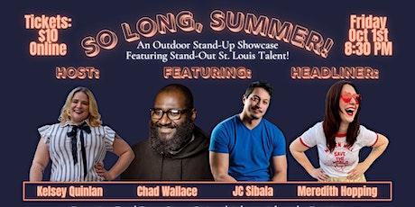 'So Long, Summer!' Comedy Showcase tickets