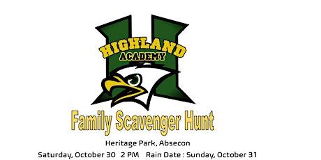 Highland Academy Family Scavenger Hunt tickets