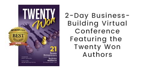 Two-Day Business-Building Conference  Featuring the Twenty Won Authors tickets