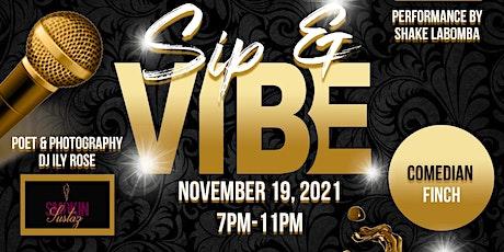 Sip N Vibe tickets