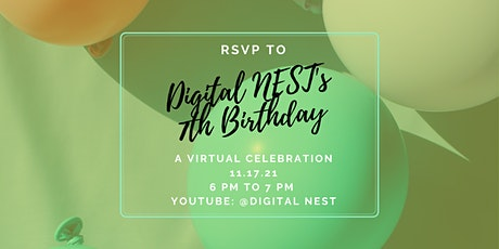 Digital NEST's 7th Birthday entradas