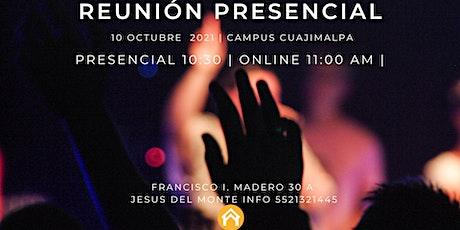 Reunión Presencial - Cuajimalpa boletos