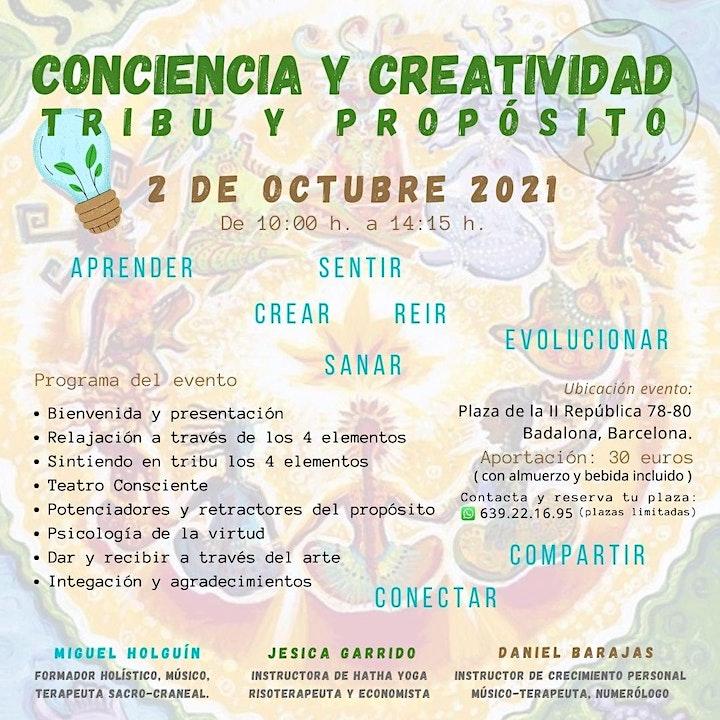 Imagen de CONCIENCIA Y CREATIVIDAD TRIBU Y PROPOSITO