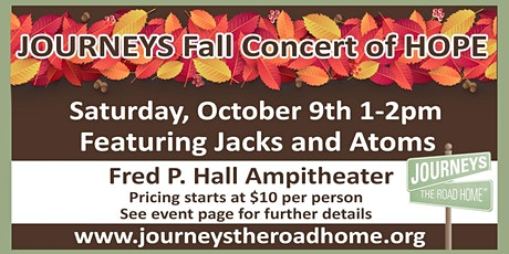 JOURNEYS Fall Concert of HOPE tickets