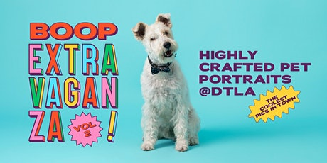 Highly Crafted Pet Portraits @DTLA tickets