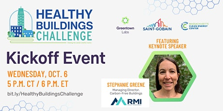 Healthy Buildings Challenge Kickoff Event tickets
