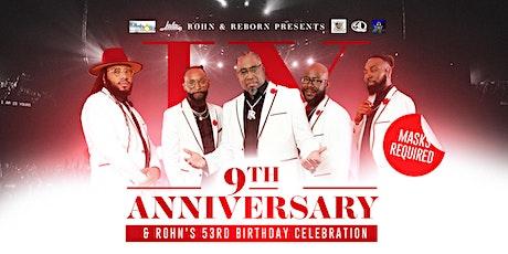 9th Anniversary & 53rd Birthday Celebration tickets