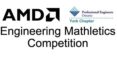 PEO York 2021 AMD Engineering Mathletics -  Senior Competition (Gr. 9-10) tickets