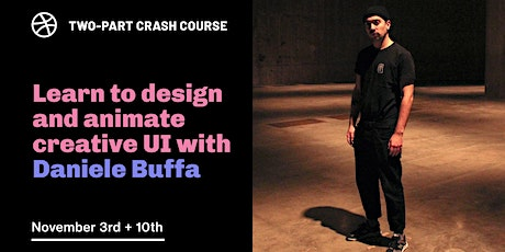 Crash Course - Learn to Design and Animate Creative UI Tickets