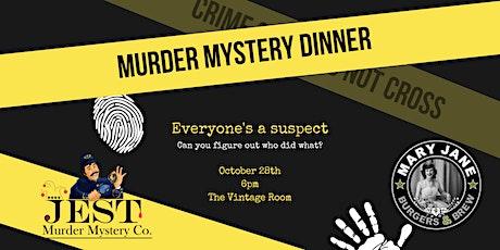 Jest Murder Mystery Dinner tickets