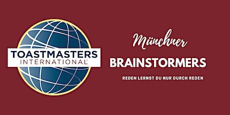 Toastmasters/Münchner Brainstormers Club Meeting Hybrid/Online Tickets