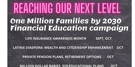One Million Families by 2030 Financial Education Campaign tickets