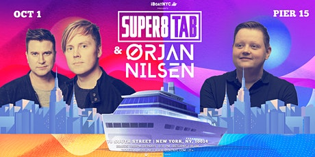 Trance Music Boat Presents: SUPER8 & TAB + ORJAN NELSON - NYC Yacht Cruise tickets
