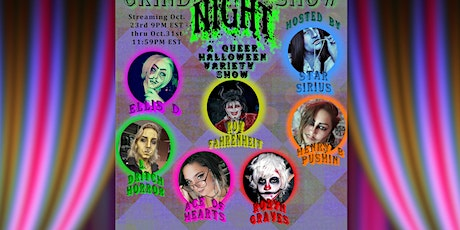 The Devil's Night Grind Show  - Digital Drag, Burlesque, and More!($5 18+) tickets