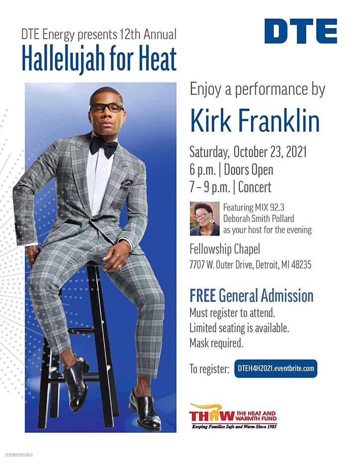 DTE Energy presents 12th Annual Hallelujah for Heat image