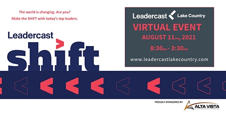 Leadercast LIVE Lake Country 2021 - Shift tickets