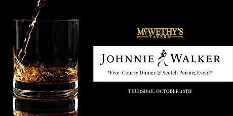 Johnnie Walker 5-Course Dinner Event tickets