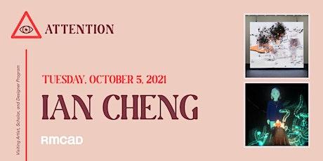 Virtual  VASD Program ATTENTION Series Artist Talk - Ian Cheng tickets