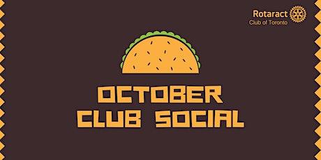 Rotaract TO October Club Social tickets