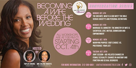 IATW Movement  Conversation Series: Becoming a Wife Before the Wedding tickets