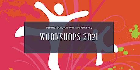 Improvisational Writing Workshops. tickets