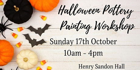 Halloween Pottery Painting Workshop tickets