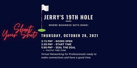 Jerry's 19th Hole - Where Business Gets Done (Oct. 28) tickets